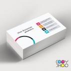 Шаблон визитки для web-студии