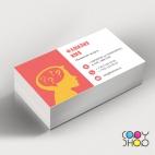 Шаблон визитки для психолога