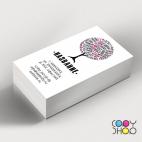 Шаблон визитки для репетитора