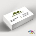 Шаблон визитки для строительной фирмы