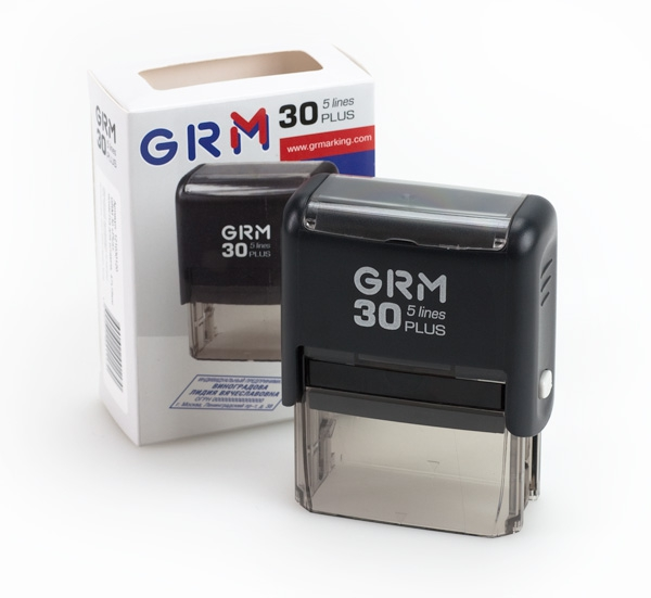 GRM 30 Plus оснастка для штампов автоматическая