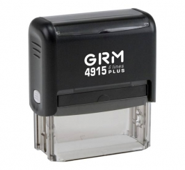 GRM 4915 Plus Штамп пластиковый