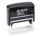 GRM 4917 Plus Штамп пластиковый в СПб