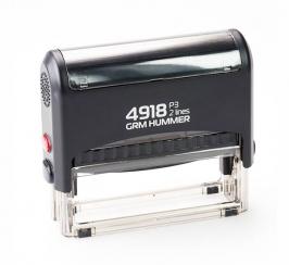 GRM 4918 Hummer автоматическая оснастка для печати