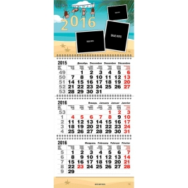 "Календарь с фото 2017 ""Мартышки"""
