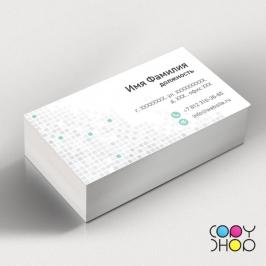 Шаблон визитки кафельная плитка