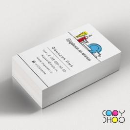 Образец визитки общепит