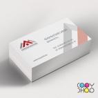 Образец визитки для архитектора