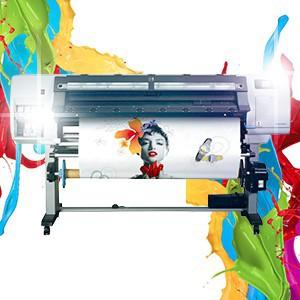 Широкоформатная  печать и резка